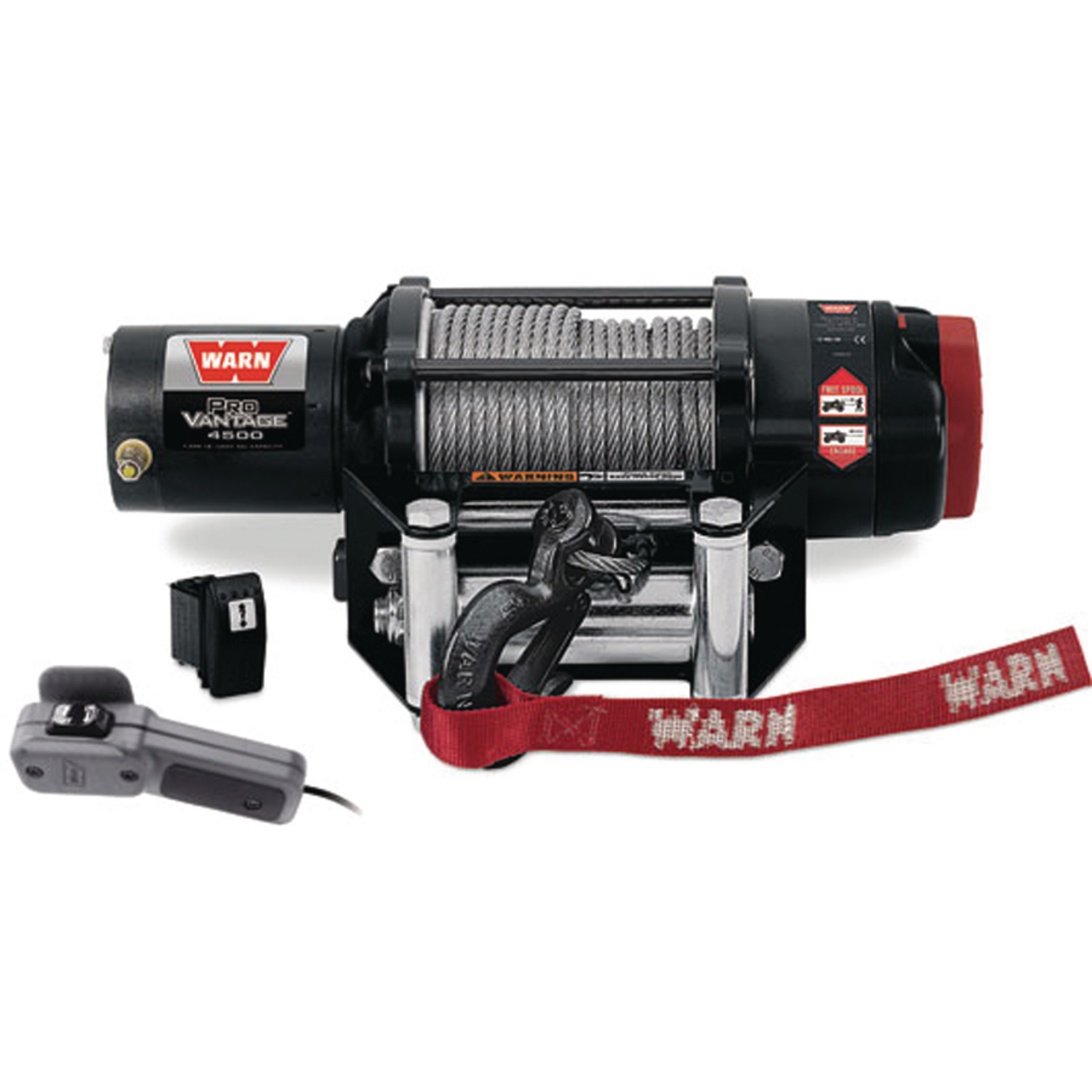 "Warn 90450 ProVantage 4500 lb Capacity RV Winch - 55' x 7/32"" Cable"