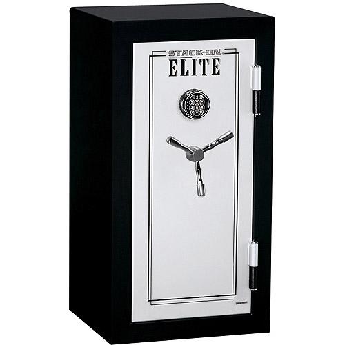 Stack-On Elite Executive Fire Safe with Electronic Lock E-040-SB-E Black/Silver