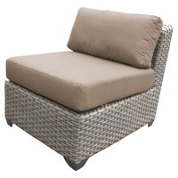 TK Classics Florence Outdoor Middle Chair with 2 Sets of Cushion Covers