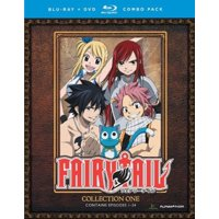 FAIRY TAIL-COLLECTION ONE (BLU-RAY/DVD COMBO/8 DISC) (Blu-ray)