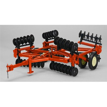 1 by 16 Scale High Detail Folding Wing Disc Harrow, (Used 3 Point Disc Harrow For Sale)