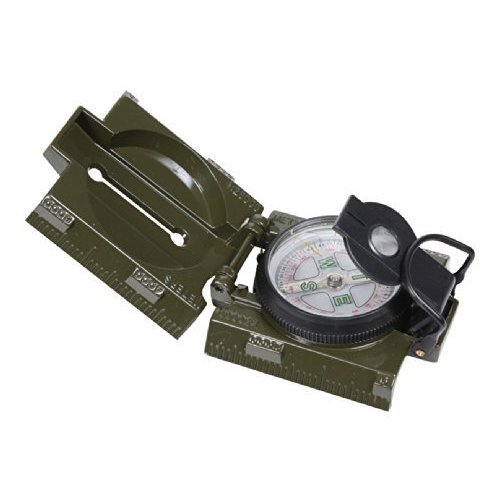 "Military Marching Compass & LED Light �"" Olive Drab by BlackBeltShop"