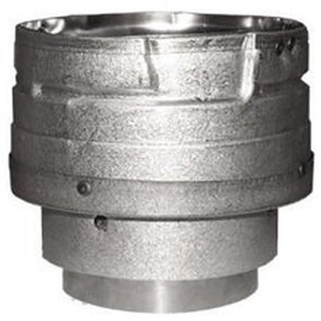 3PVL-X4ADR 3 in. To 4 in. Pellet Vent Appliance Pipe Adapter
