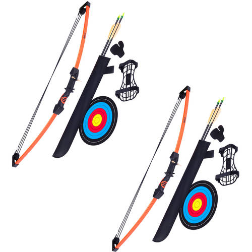 Crosman Archery Upland Compound Bow, 2-pack Bundle