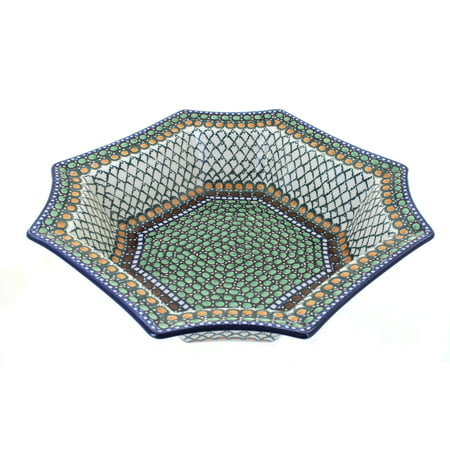 - Polish Pottery Tranquility Medium Octagonal Dish