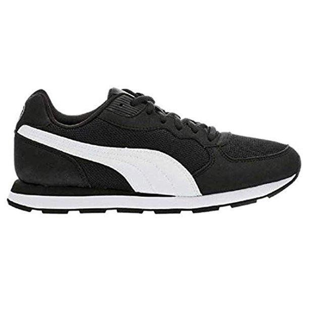 Puma Vista C Retro Running Shoes Womens Walking Sneakers Black Size 6