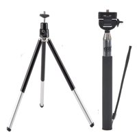 Selfie Stick Monopod,Mini Tripod for Ricoh Theta S SC/Ricoh Theta M15 360 Degree Camera,TSV 2in1 Kit