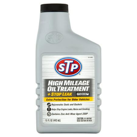 Stp High Mileage Oil Treatment 15fl Oz