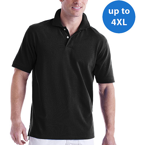 Faded Glory - Big Men's Cotton Short-Sleeve Polo