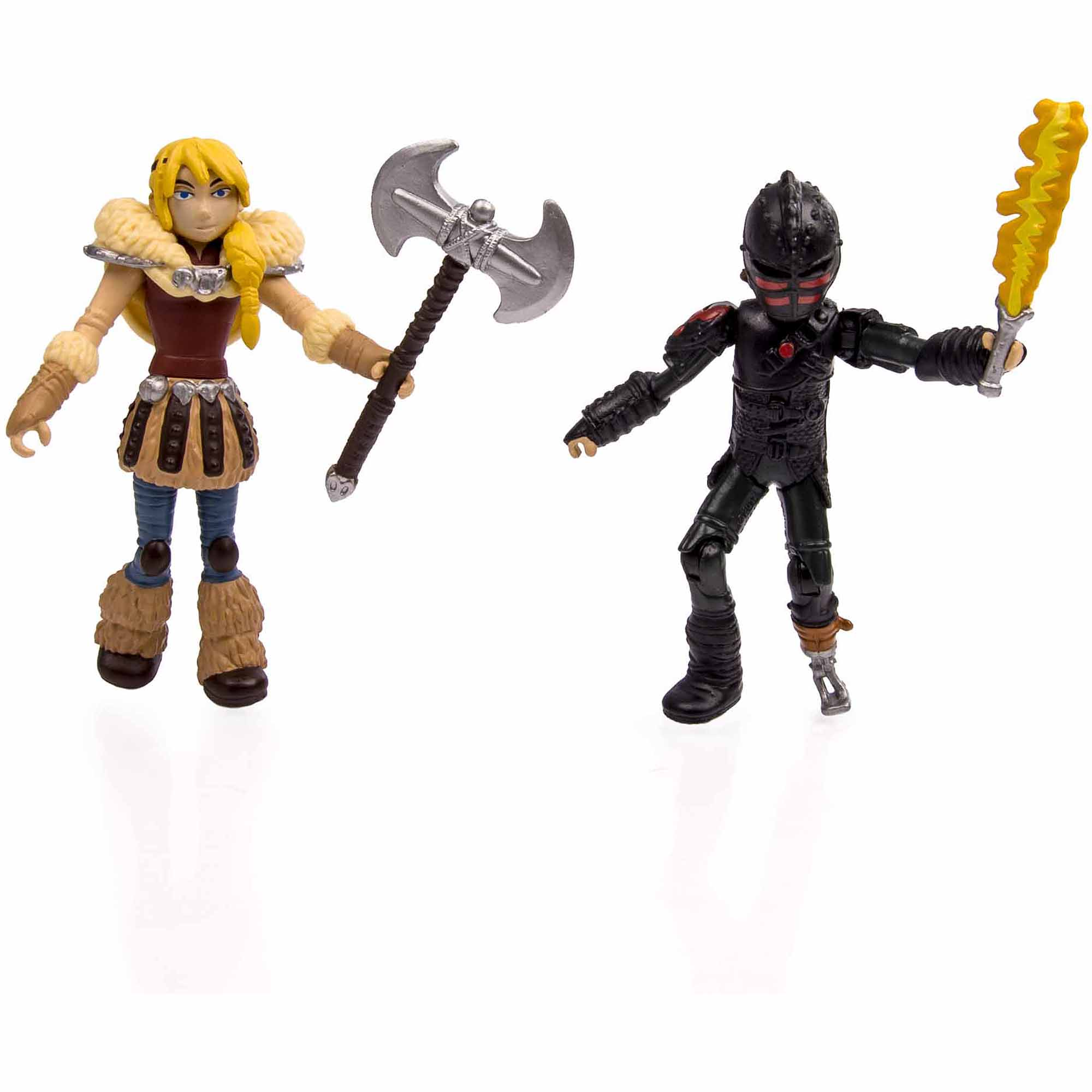 DreamWorks Dragons: How to Train Your Dragon 2 Viking Warrior, 2-Pack, Hiccup vs. Drago