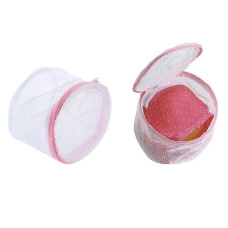 2 Washing Bra Bag Laundry Underwear Lingerie Saver Mesh Wash Basket Aid Net New