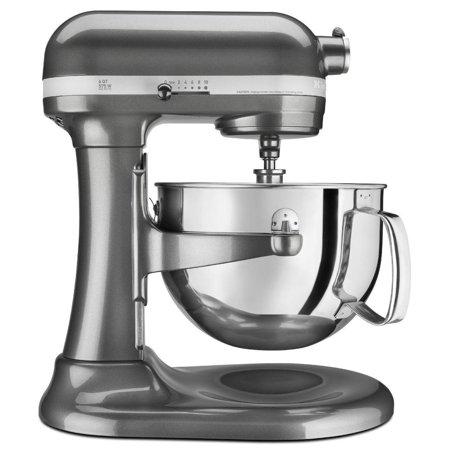 KitchenAid RRKP26M1XQG Professional 600 Series Bowl-Lift Stand Mixer, 6  Quart, Liquid Graphite (CERTIFIED REFURBISHED)
