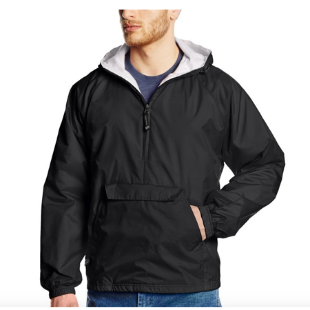 Charles River Apparel Mens Classic Solid Windbreaker Pullover (Pullover Windbreaker Men)