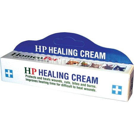 HP Healing Cream, 14g, Helps with bites burns cuts wounds healing first aid By HomeoPet