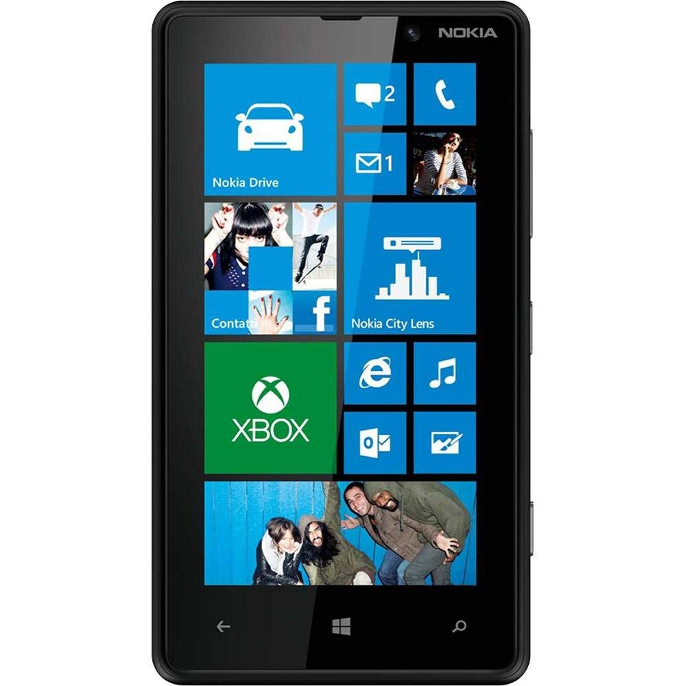 Nokia Lumia 820 8GB (AT&T GSM Unlocked ) WINDOWS Smartphone - Black