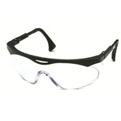 Skyper Eyewear, Clear Polycarbonate Hard Coat Lenses, Black (Best Way To Clean Polycarbonate Lenses)