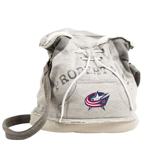 Littlearth NHL Hoodie Duffel Grey/Columbus Blue Jackets