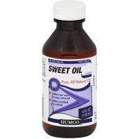 Humco Ear Drops 100% Natural Pure Sweet Olive Oil, 4 oz