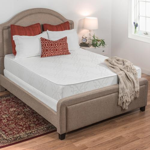 Select Luxury  Flippable Medium Firm 10-inch Twin-size Foam Mattress