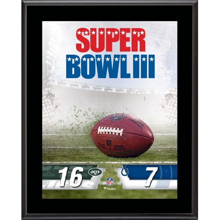 New York Jets vs. Baltimore Colts Super Bowl III 10.5