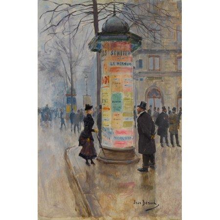 Parisian Street Scene Fine Art