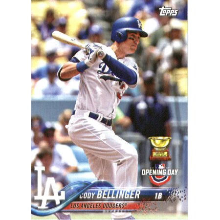 2018 Topps Opening Day 58 Cody Bellinger Los Angeles Dodgers Baseball Card Walmartcom