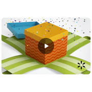 Confetti Gift Box Walmart eGift Card