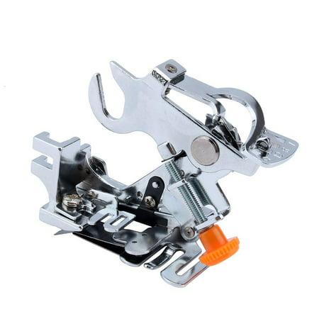 TMISHION High Quality Universal Ruffler Attachment Presser Foot Machine fit for all Low Shack Singer,Janome,Juki,Necchi & Elna Sewing Machine