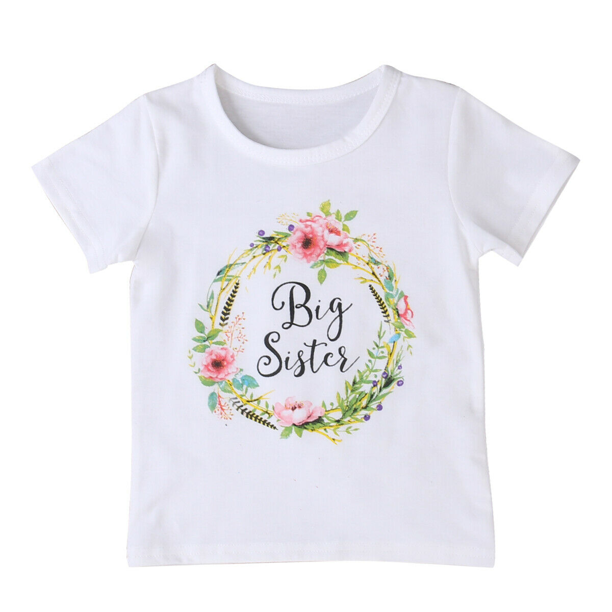 Honganda Toddler Newborn Baby Boy Sibling Shirt Set Big Brother Little Brother Deer Romper Outfit Clothes