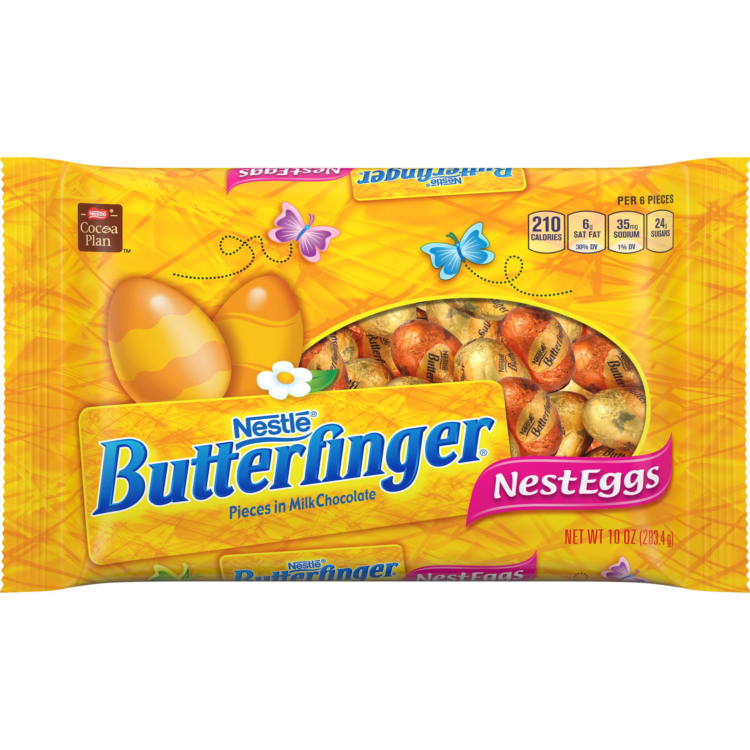 Nestle Butterfinger Chocolate Nest Eggs Candy, 10 Oz