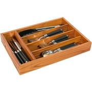 Home Basics Cutlery Tray, Pine