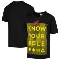 Florida Mayhem Youth Overwatch League Role Player T-Shirt - Black