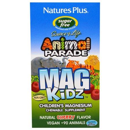 - Nature's Plus Animal Parade AP Mag Kidz Chewable 90 Quantity