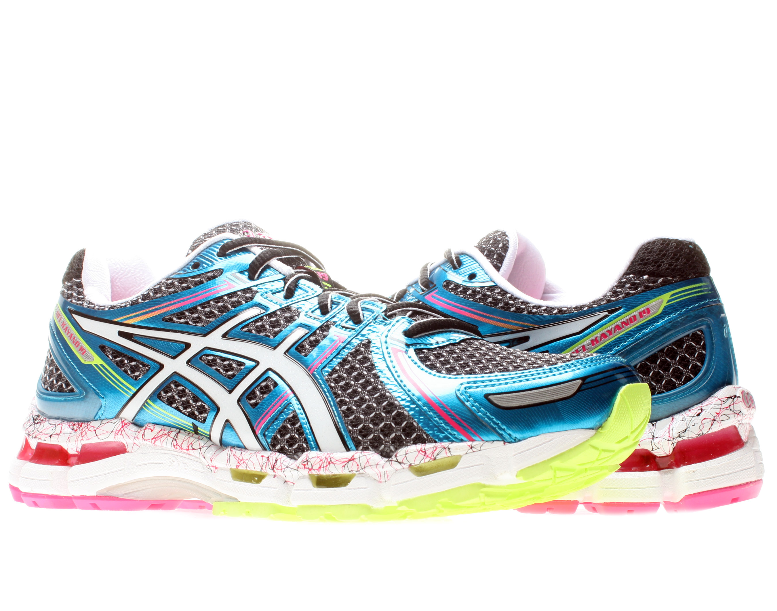 Asics Gel-Kayano 19 Women's Running Shoes Size 6 by ASICS