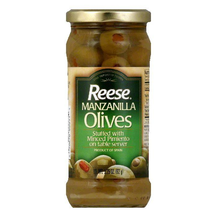 Reese Tree-Packed Olives, 3.25 OZ (Pack of 12)