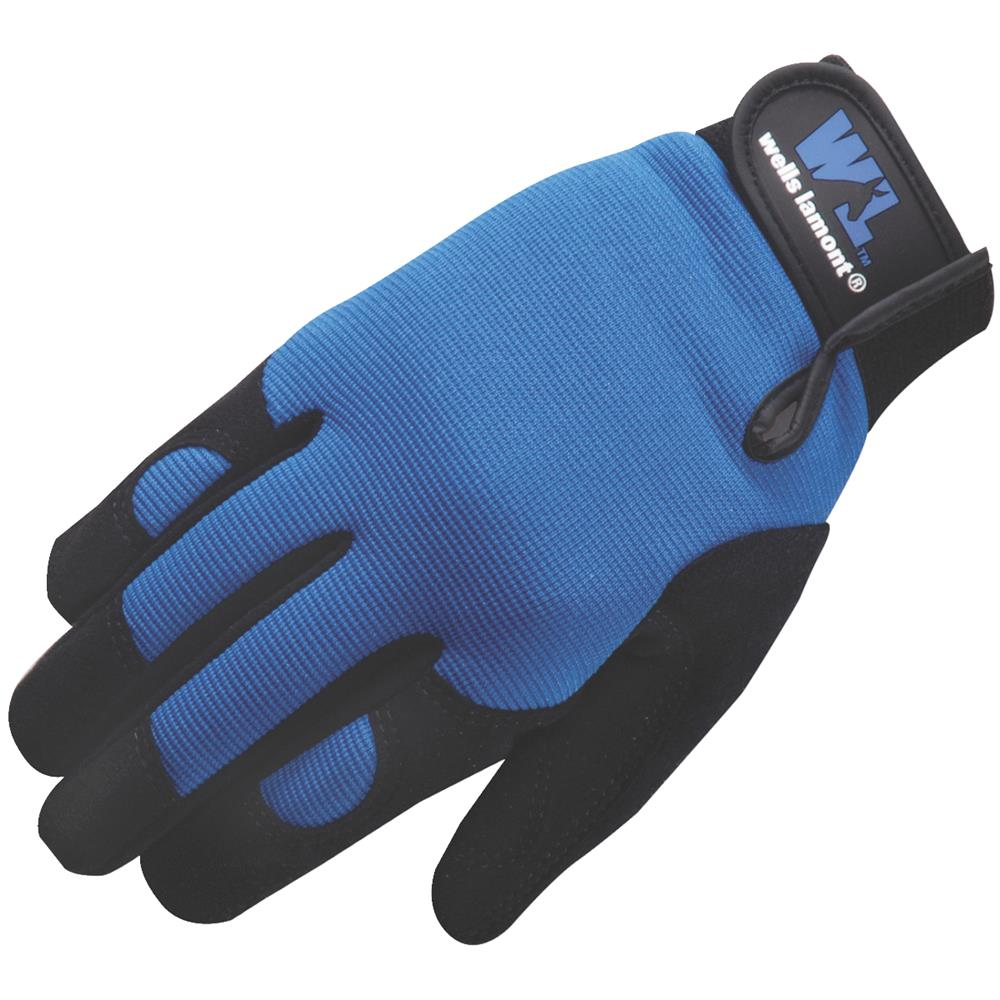 Wells Lamont Med Synthetic Leather Glove 7707M by Wells Lamont