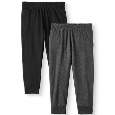 Garanimals Essential Knit Joggers, 2pc Multi-Pack (Toddler Boys)
