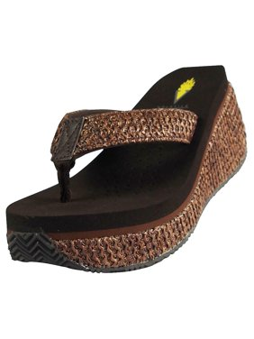 72df4d6ef Product Image Volatile Womens Island Wedge Sandal BROWN   9 B(M) US