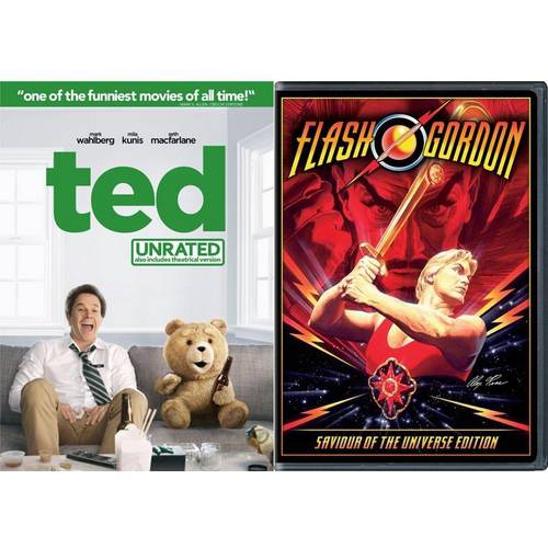 Ted (Rated/Unrated) / Flash Gordon (Walmart Exclusive) (Anamorphic Widescreen)