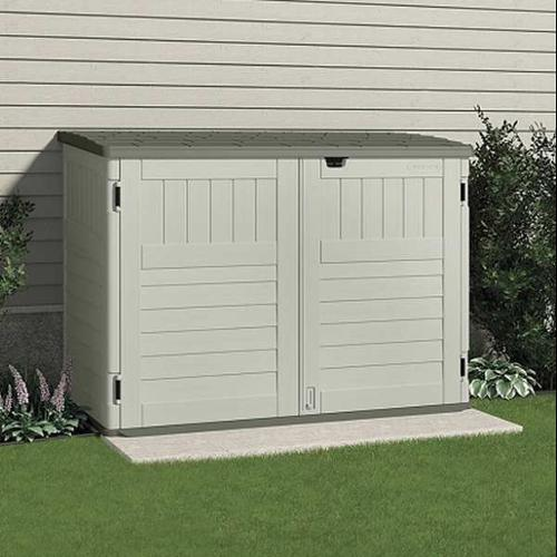 SUNCAST BMS4700 Outdoor Storage Shed 7012inWx4414inD