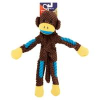 Vibrant Life Tough Buddy Rope Monkey Dog Toys
