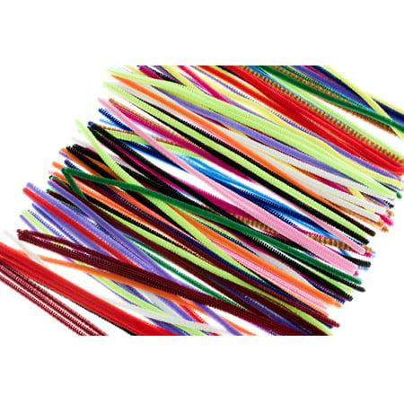 300 Pcs Pipe Gun Chenille Cleaners Multi Color Bristle Hookah Gun Craft - Pcs Chenille
