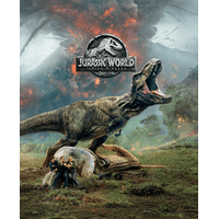 Jurassic World: Fallen Kingdom (Blu-ray + DVD + Digital) (Steelbook Packaging) (Walmart Exclusive)