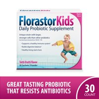 Florastor Kids Daily Probiotic Supplement, 30 Sachets