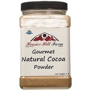 Hoosier Hill Farm Natural Cocoa Powder, 1 lb plastic jar