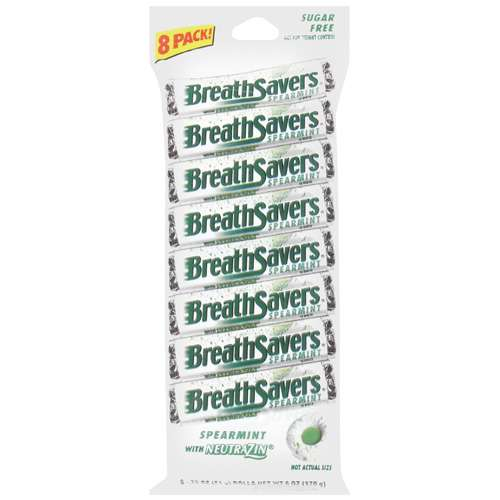 Breath Savers Spearmint Mints, 6 oz