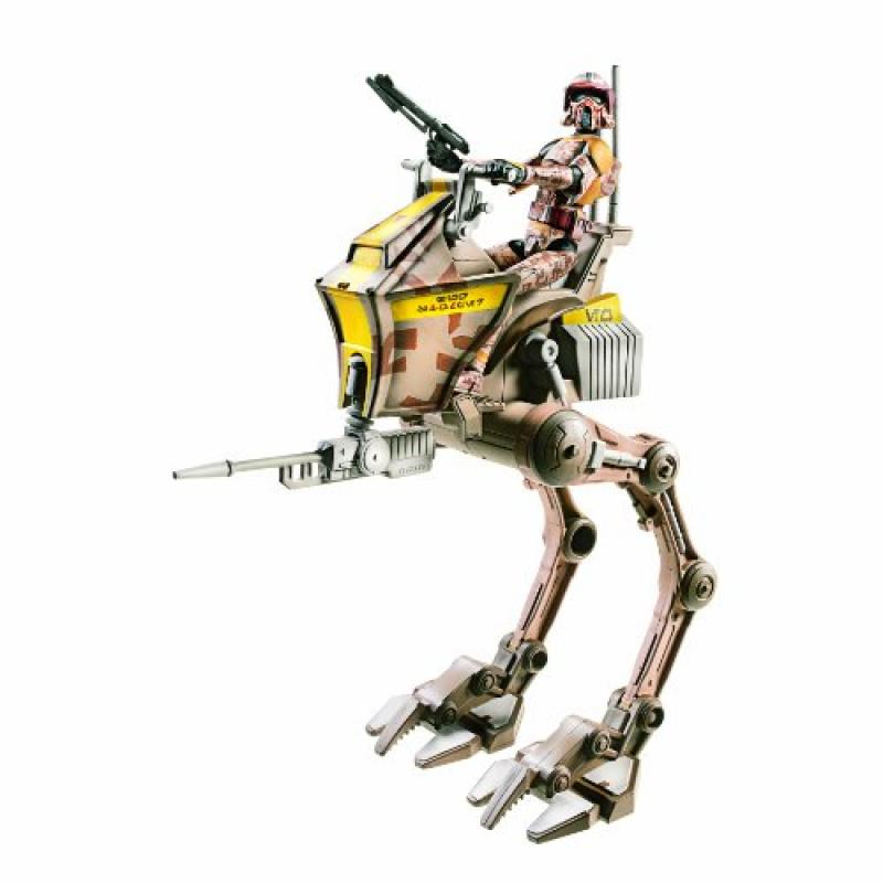 Star Wars Deluxe Figure with Vehicle - Clone Stout with A...