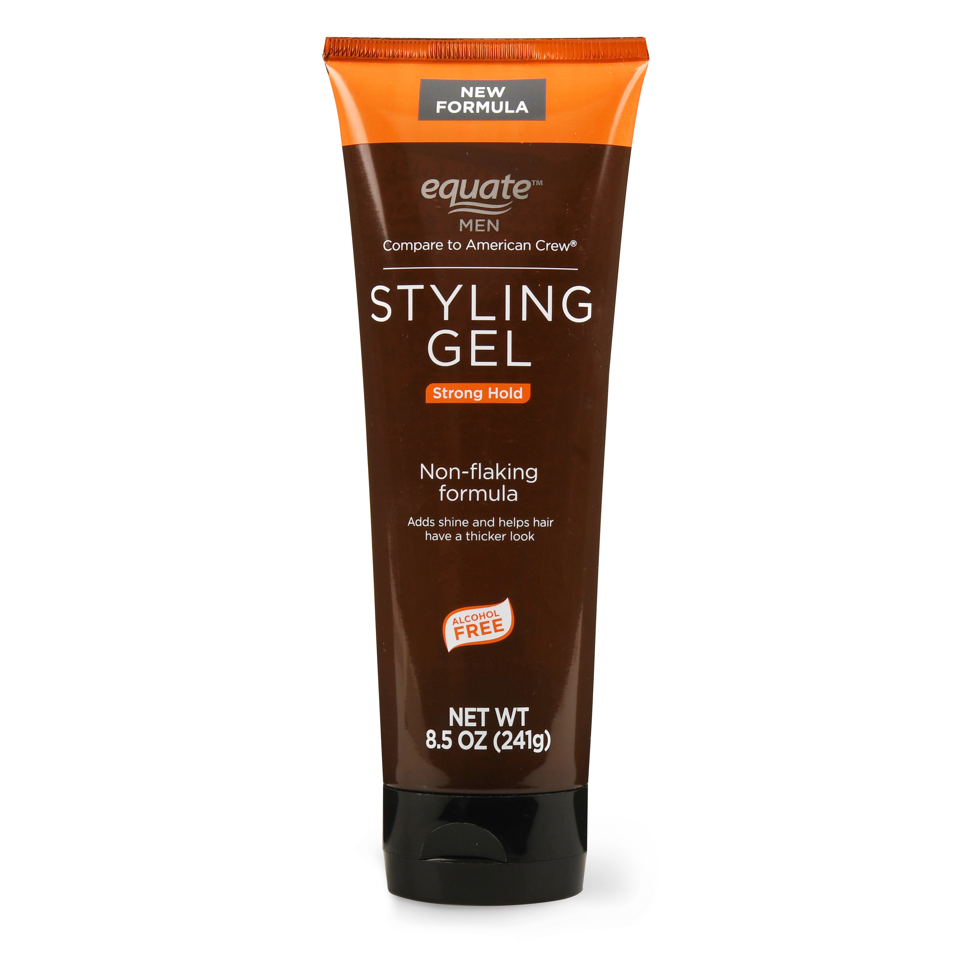 Equate Men Strong Hold Styling Gel, 8.5 Oz