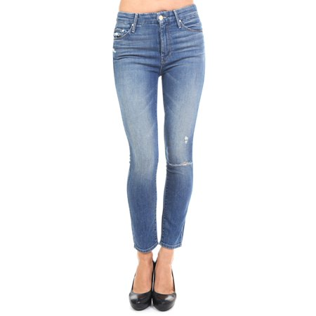 4e17cfe66508d Mother - Mother Women s The Looker High Waisted Crop Jeans 1331-369 ...