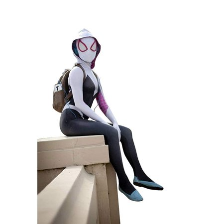 Aesthetic Halloween Costumes (Gwen Stacy Cosplay Costume)
